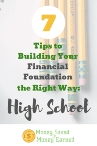 building your financial foundation
