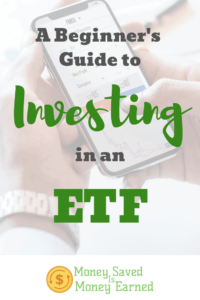 investing in an ETF