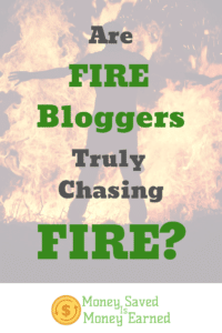 FIRE bloggers