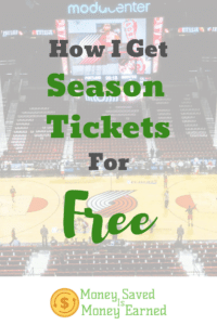 season tickets for free