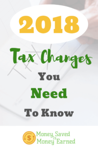 2018 tax changes you need to know