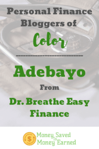 personal finance bloggers of color