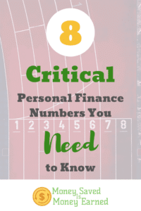 critical personal finance numbers you need to know