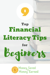 financial literacy tips for beginners