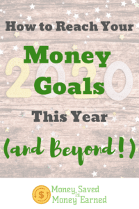 reach your money goals this year