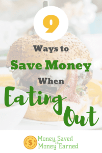 ways to save money when eating out