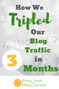 how we tripled our blog traffic